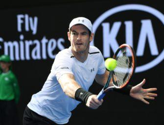Melbourne: Murray und Wawrinka mühelos im Achtelfinale