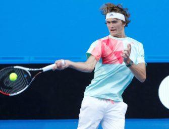 Alexander Zverev erreicht dritte Runde von Melbourne