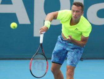 Rücken: Kohlschreiber verzichtet auf Viertelfinale von Sydney