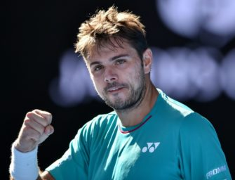 Nach Sieg über Tsonga: Wawrinka im Halbfinale