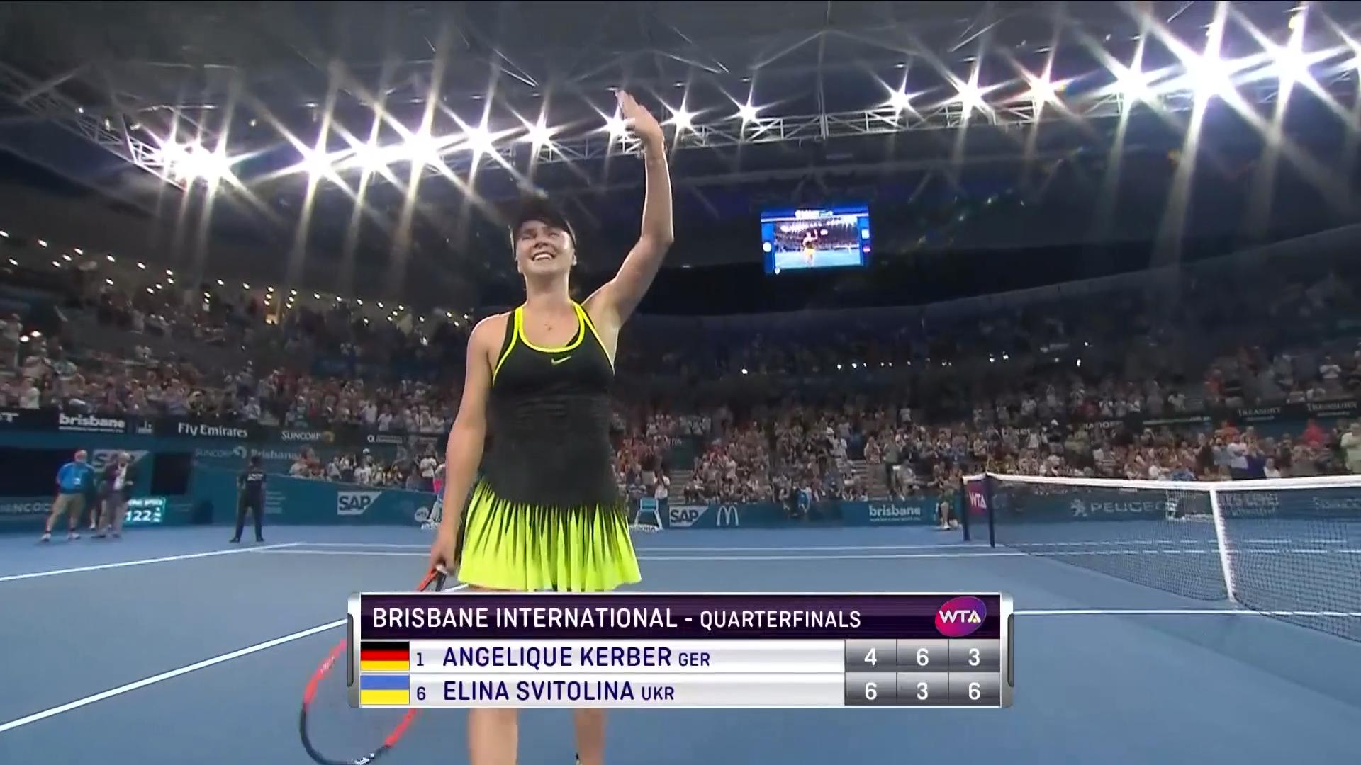 Kerber verpasst Halbfinale in Brisbane