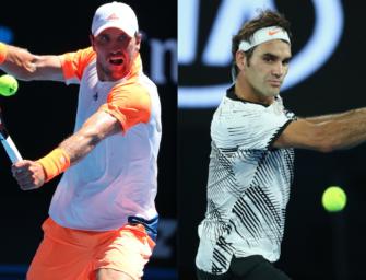 Match des Tages am Dienstag: Mischa Zverev vs. Roger Federer