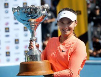 Davis holt ersten WTA-Titel