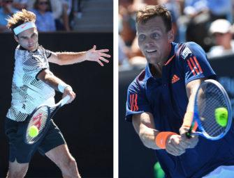 Match des Tages: Federer gegen Berdych bei den Australian Open