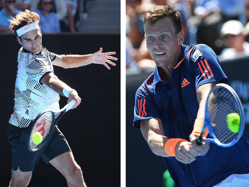Match Des Tages Federer Gegen Berdych Bei Den Australian Open