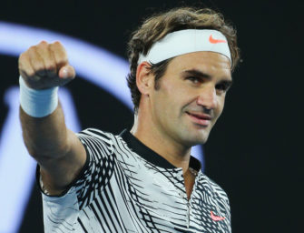 """Federer mit Galavorstellung: """"Könnte nicht glücklicher sein"""""""