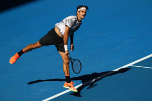 Roger Federer zieht nach dem Sieg gegen den Amerikaner Noah Rubin in die dritte Runde ein.