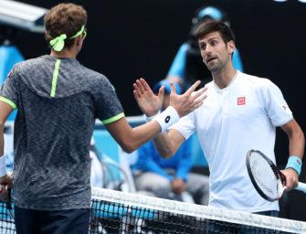 Sensation in Melbourne: Titelverteidiger Djokovic ist draußen
