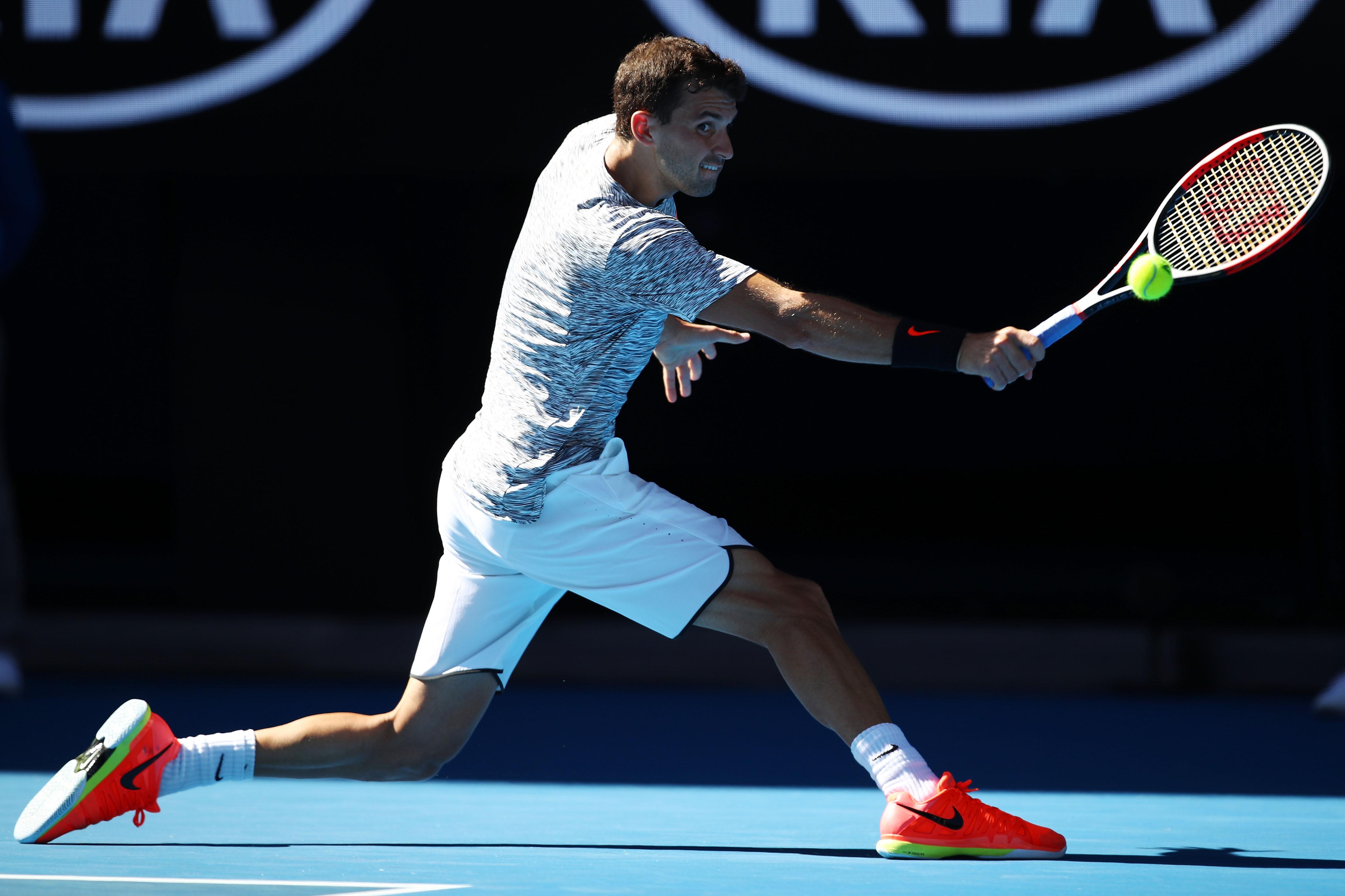 Rafael Nadal gegen Grigor Dimitrov
