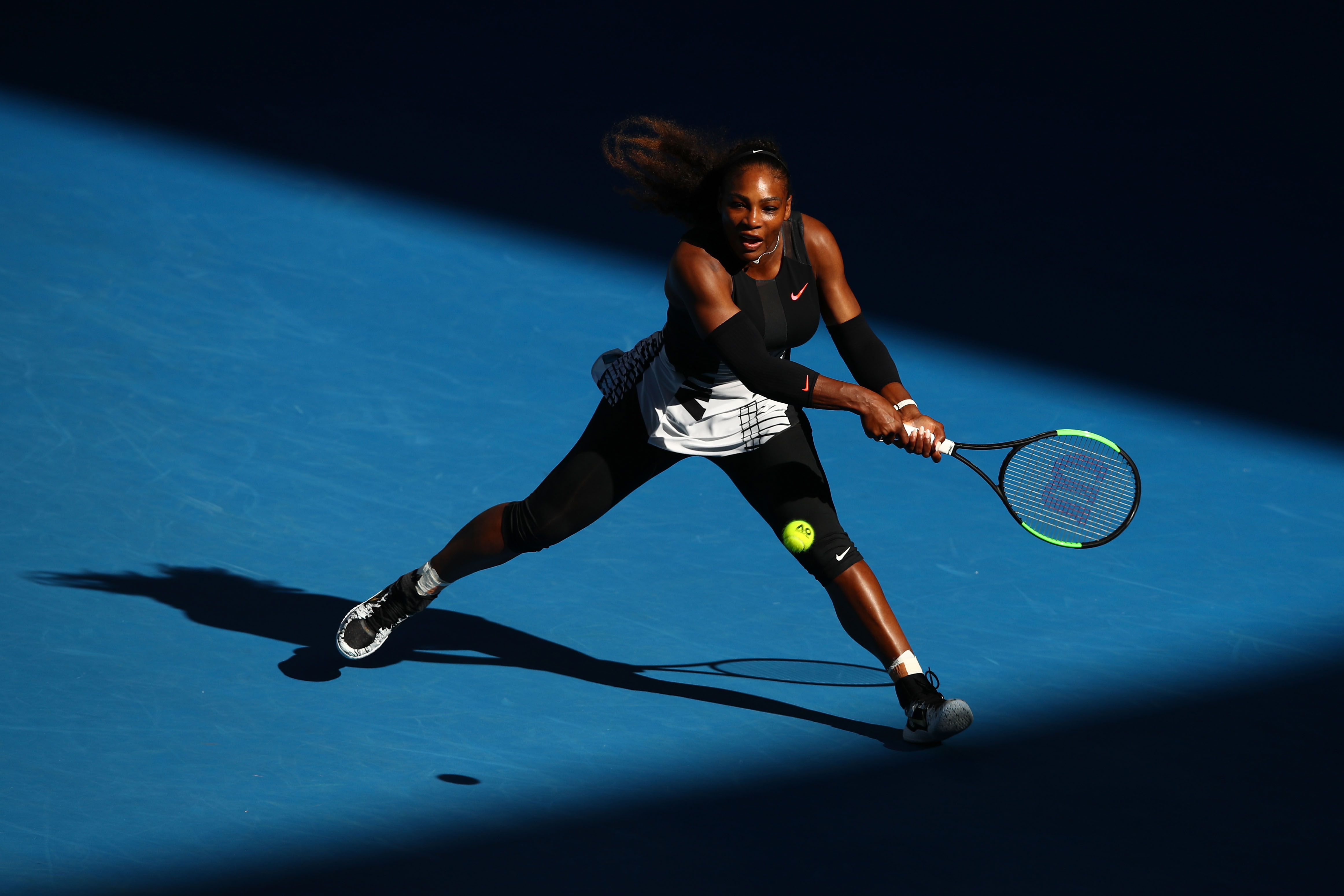Serena Williams gegen Venus Williams