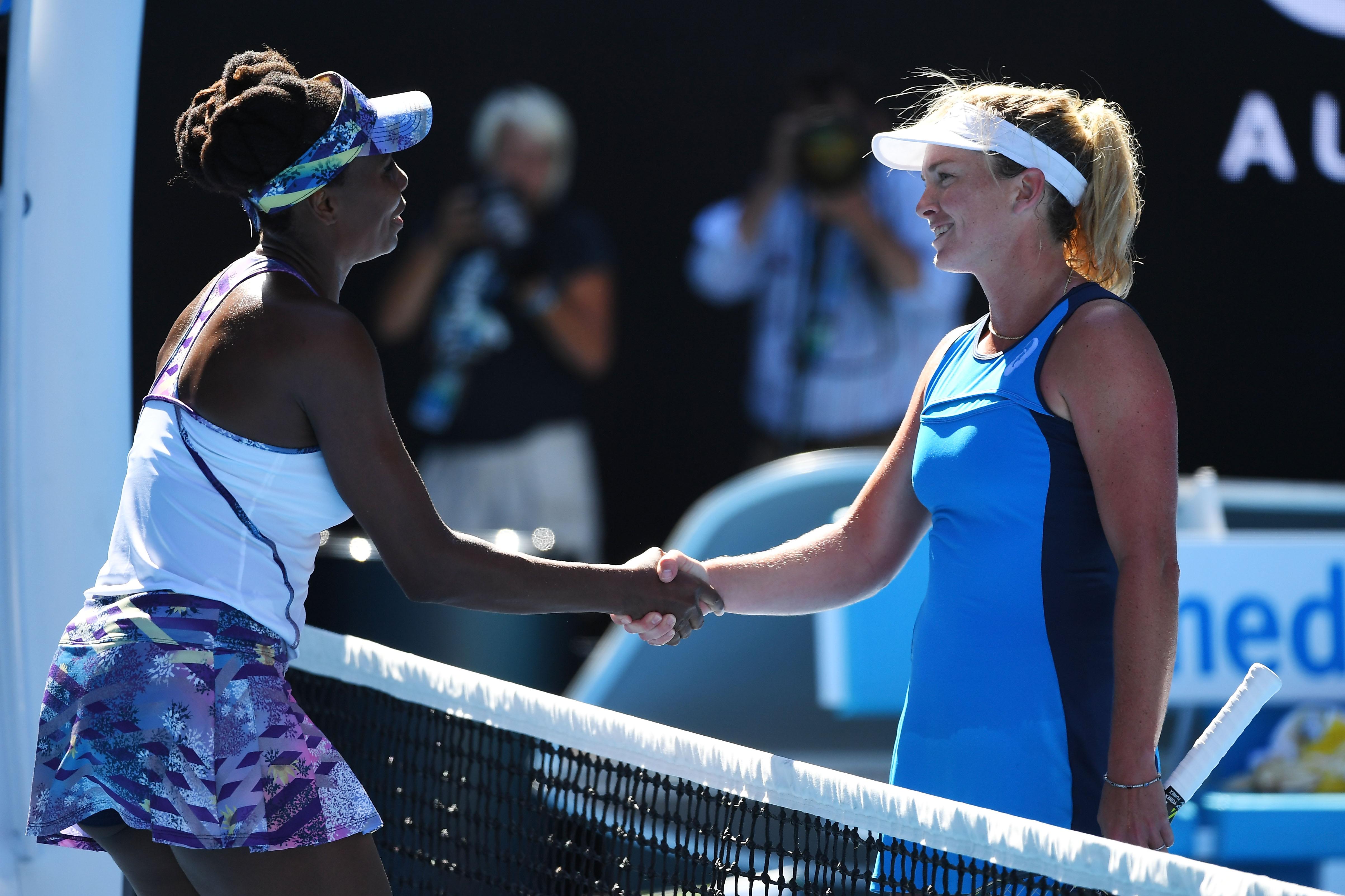 Serena williams gegen Venus Williams