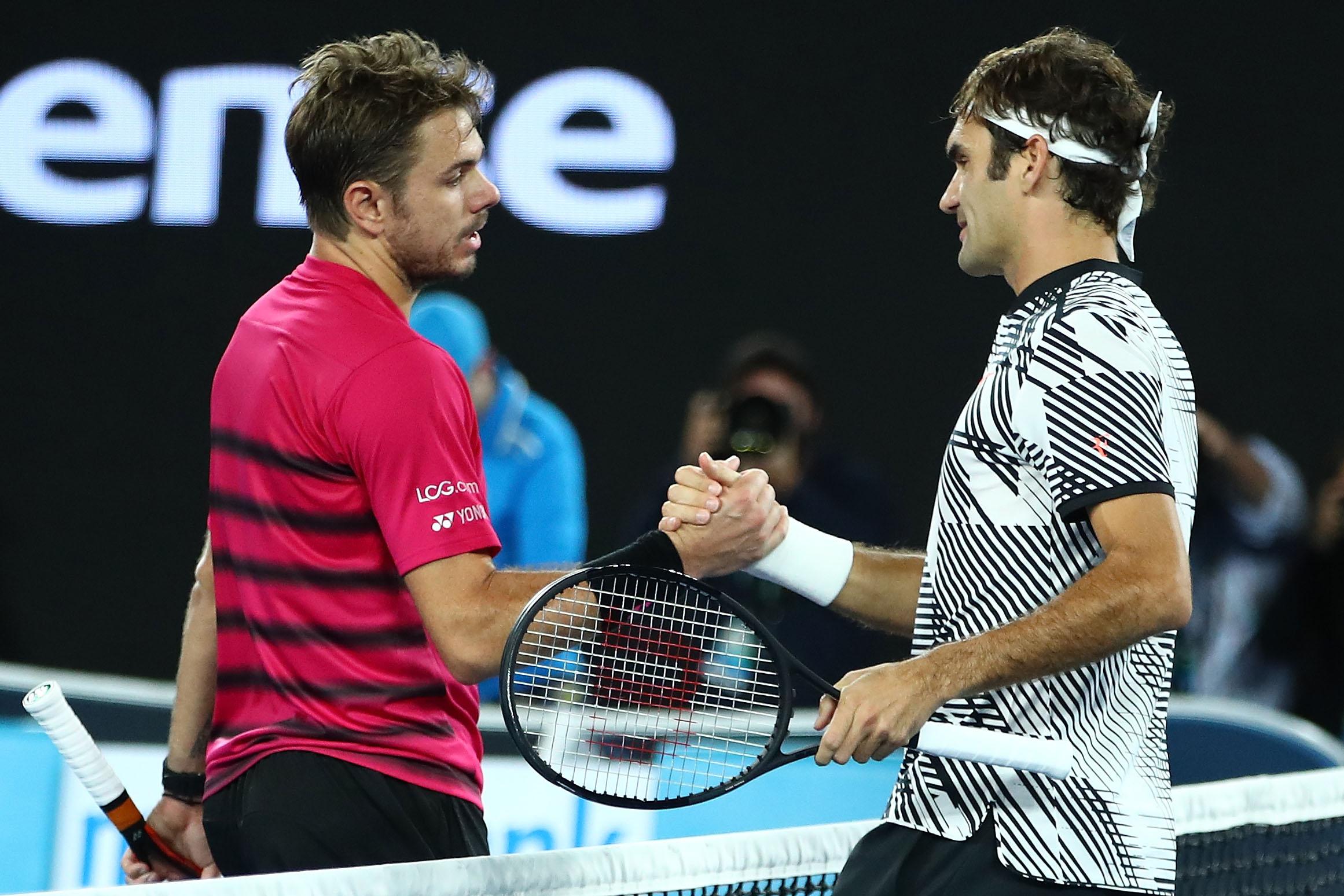 Melbourne: Federer schlägt Wawrinka und steht im Finale