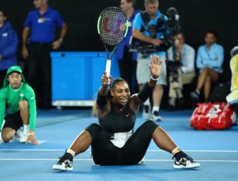 Serena Williams gewinnt Australian Open und verdrängt Graf