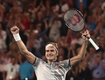 Federer gewinnt Australian Open nach epischem Finale