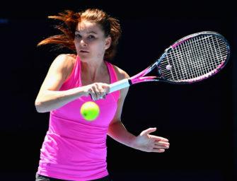 Besser spielen mit Agnieszka Radwanska: Gerader Punch