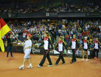Fed Cup in Stuttgart gegen die Ukraine