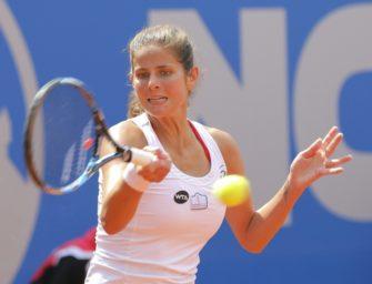 Görges und Witthöft im Halbfinale von Budapest