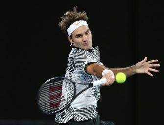 Dubai: Souveräner Auftaktsieg für Federer