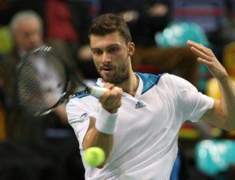 Daniel Brands verpasst Viertelfinale von Sofia