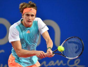 Alexander Zverev gewinnt Turnier in Montpellier