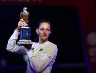 Tennis: Pliskova gewinnt Turnier in Doha