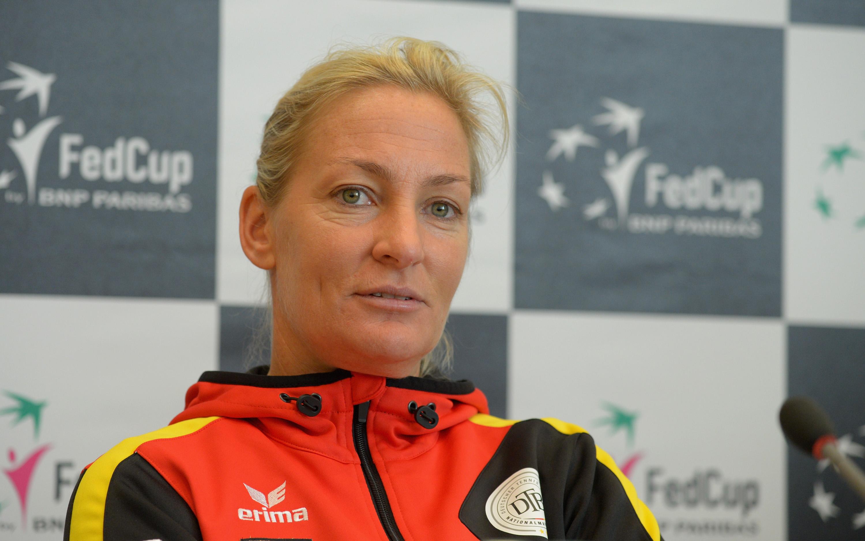 Fed Cup-Teamchefin Barbara Rittner freut sich über das Heimspiel in Stuttgart.