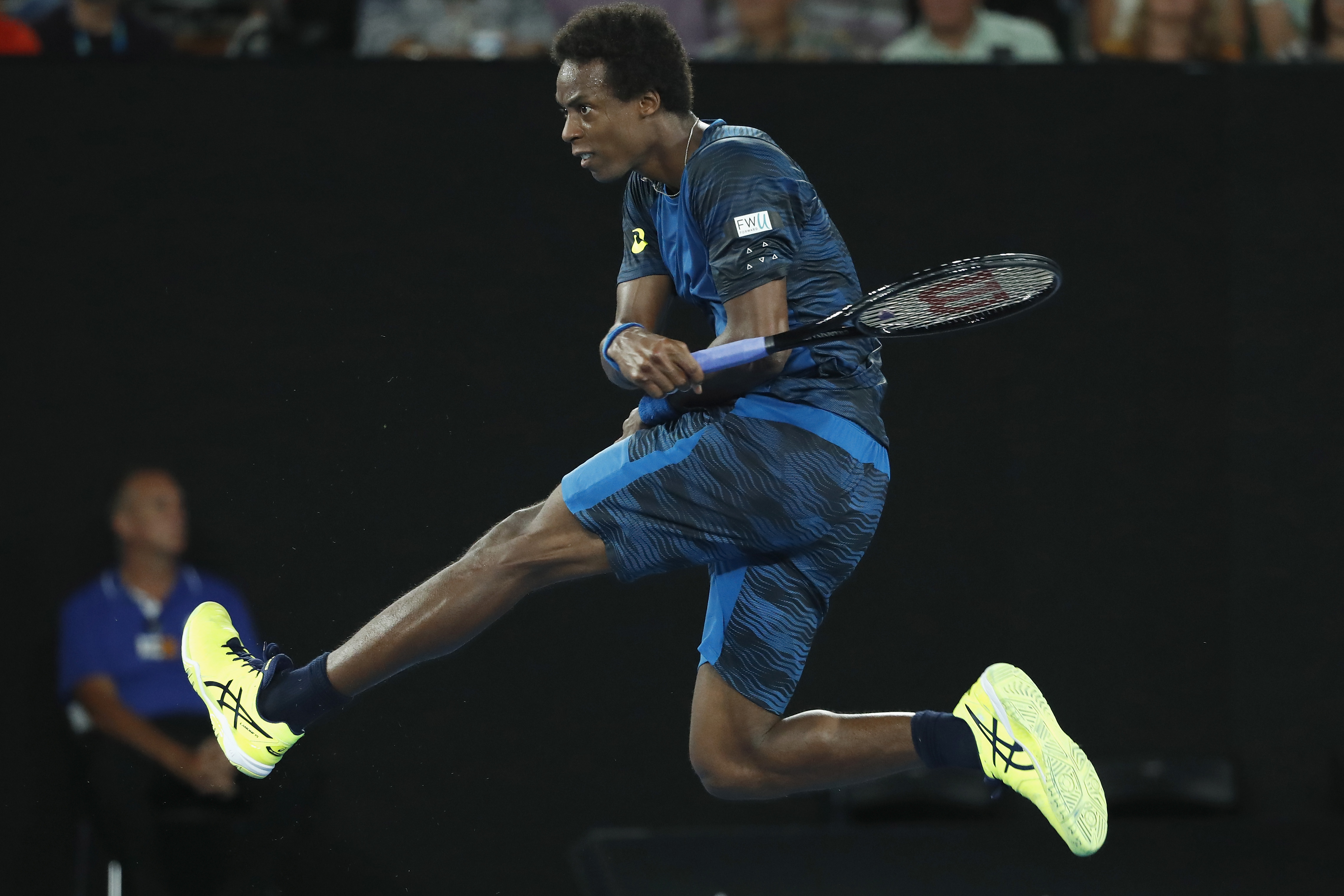 Gael Monfils steht für spaktakuläres Tennis. Mit seinen artistischen Einlagen begeistert der Franzose jedes Publikum.
