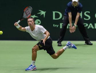 Davis Cup: Kohlschreiber unterliegt zum Auftakt in fünf Sätzen