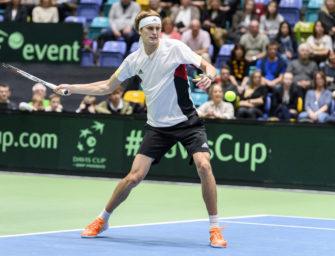 Davis Cup: Zverev gleicht aus