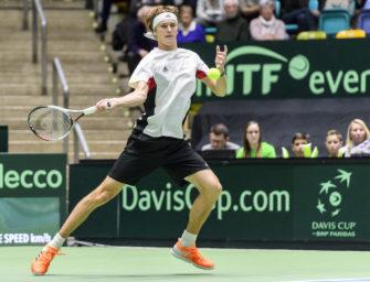 Davis Cup aus Frankfurt: Entscheidung am Sonntag im Radiostream