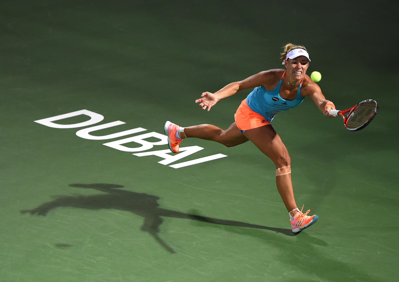 Kerber im Viertelfinale von Dubai