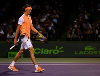 Zverev scheitert im Viertelfinale der Miami Open an Kyrgios