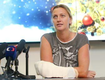 Kvitova auf dem Weg der Besserung