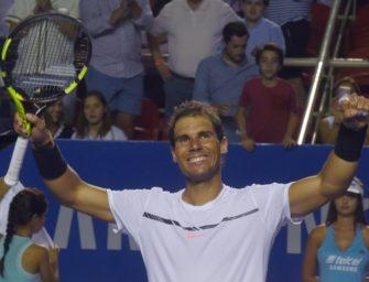 Miami: Nadal siegt gegen Fognini und wartet auf Federer