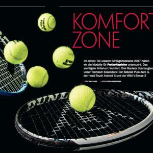 tennis MAGAZIN Schlägertest für Freizeitspieler
