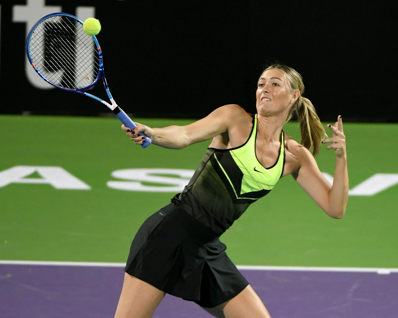 Sharapova vor Comeback
