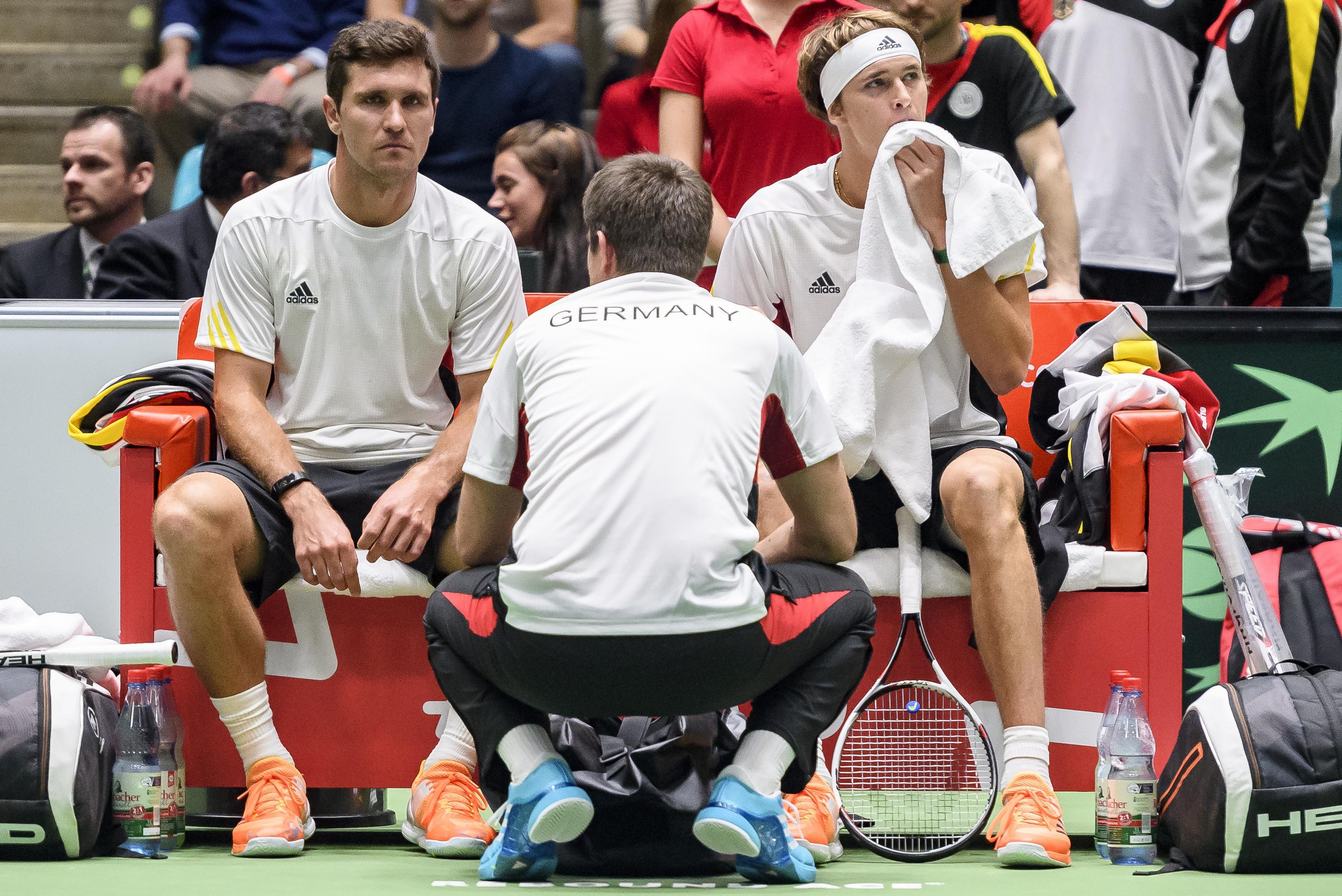 Davis Cup-Matches