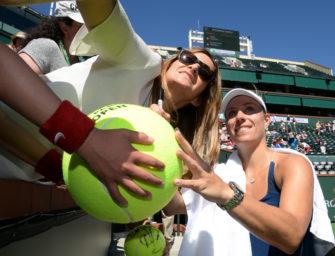 Indian Wells: Kerber gewinnt gegen Petkovic