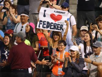 Die große Federer-Show