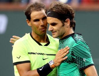Kyrgios schlägt Djokovic, Federer Nadal