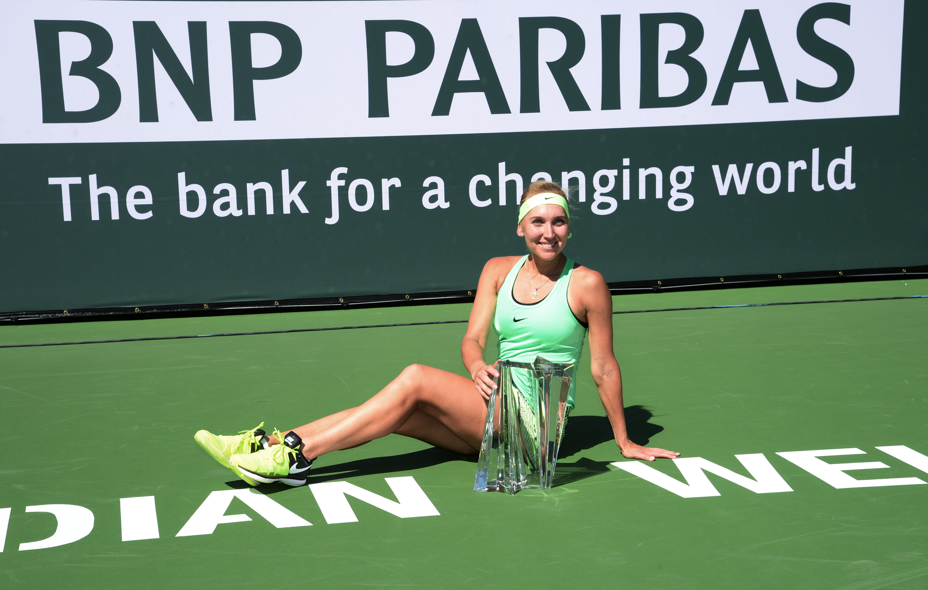 Elena Vesnina siegt in Indian Wells