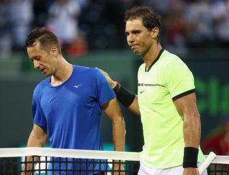 """Nach 6:0! """"Kohli"""" unterliegt Nadal in dessen 1000. Match"""