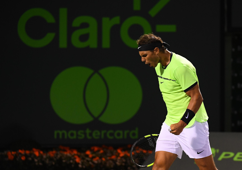 Nadal im Halbfinale der Miami Open gegen Fognini