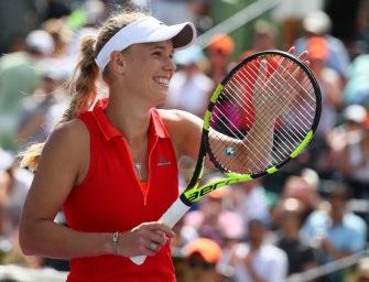 Wozniacki trifft im Finale von Miami auf Konta