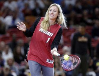 """Kerber in Miami: """"Ziel ist es, mein Spiel zu verbessern"""""""