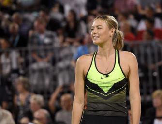 """Sharapova-Manager: """"Maria ist fit und unglaublich motiviert"""""""
