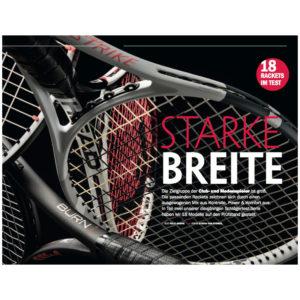 tennis MAGAZIN Schlägertest für Medenspieler