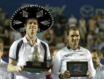 Querrey wie im Rausch: Finalsieg über Nadal in Acapulco