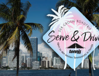 Serve & Drive: Tag 3 – Wie im Flug zu Nick Bollettieri