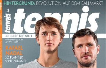 tennis MAGAZIN 4/2017 – Bruderliebe – Alexander und Mischa Zverev im Interview